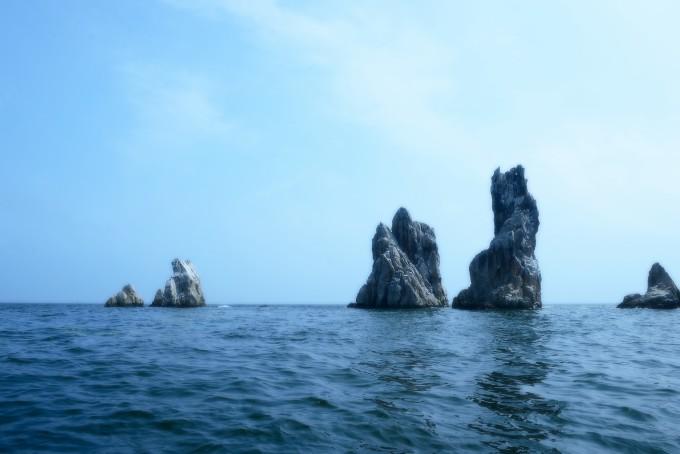 海王九岛地处黄海北部,北距庄河市城区15海里,东至鸭绿江口60