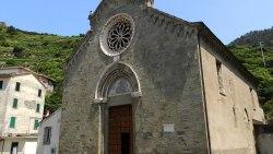 五渔村景点-圣劳伦佐教堂