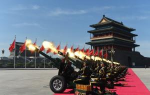 【北京图片】9.3纪念中国人民反法西斯抗日战争胜利七十周年阅兵式精彩瞬间