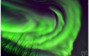 【阿拉斯加图片】实拍: 阿拉斯加夜空的超级极光秀