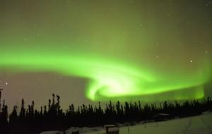 【费尔班克斯图片】阿拉斯加-Fairbanks的神秘北极光之旅