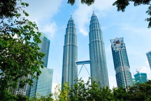 吉隆坡双子塔/国油双峰塔