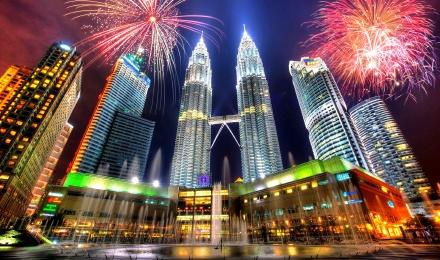 双子塔 门票 klcc 国油双峰塔 景点门票无需排队 赏吉隆坡全景/夜景