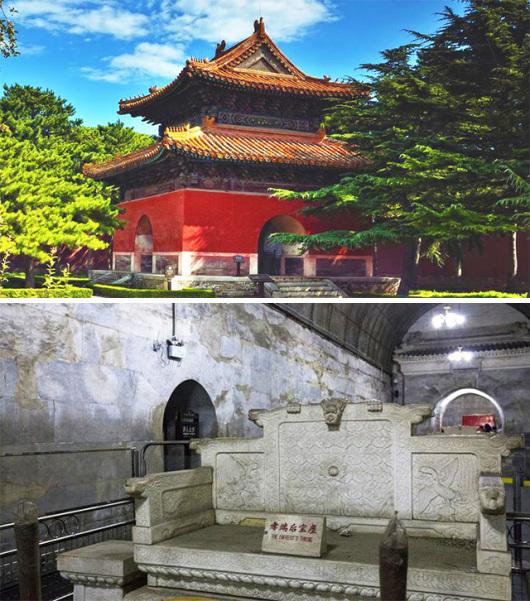 【北京出发】北京八达岭长城,十三陵定陵地下宫殿,鸟巢水立方巴士1
