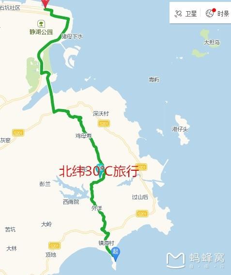 福建漳州|2016年最新龙海市镇海角半岛露营自驾攻略