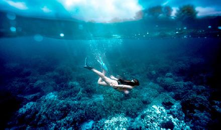 巴厘岛蓝梦岛一日游 海底漫步环岛一日游浮潜