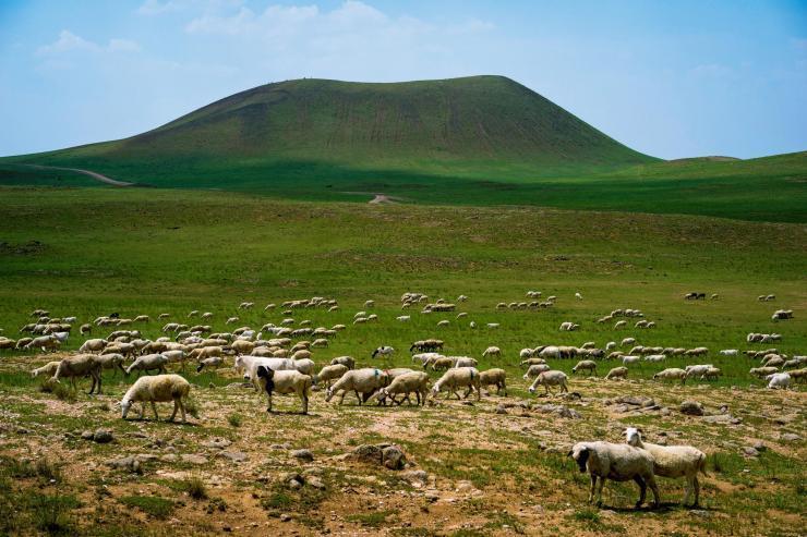 遗落的内蒙古草原火山景观――察哈尔火山群