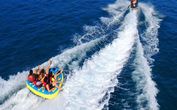 巴厘岛南湾水上运动香蕉船/甜甜圈/水上摩托(让我们浪