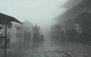 【博罗图片】雨雾萦绕,黄龙古观