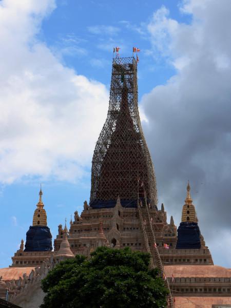 是驰名世界的佛塔,也是缅甸国家的象征