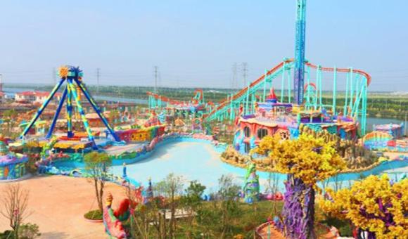 【宁波】杭州湾海皮岛欢乐世界(含萤火虫城堡)