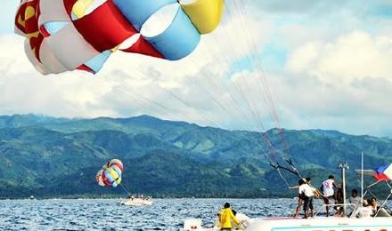 天天出发/长滩岛水上活动-海底漫步/拖曳伞/水上摩托