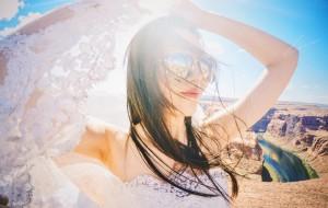 【亚利桑那图片】穿着婚纱去旅行(我的美国西海岸蜜月之旅)
