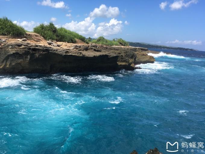 这个珊瑚只有蓝梦岛有,我在巴厘岛的海滩上没看见