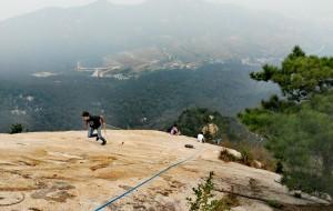 【蒙阴图片】征战蒙山聚宝崖------2016年9月我们一起走过
