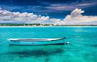 【全网最低】毛里求斯 南部双人四驱车+蓝湾玻璃底船+天然石桥+圣水湖一日游