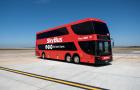 墨尔本 阿瓦隆机场到市区机场巴士SkyBus车票(当日快速出票,扫码直接上车免排队购票,三个月有效期)