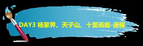 DAY3 杨家界、天子山、十里画廊-返程