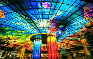 台湾娱乐-捷运美丽岛站光之穹顶