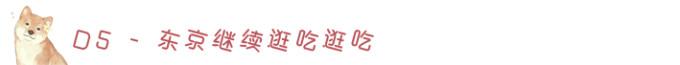 D5-继续东京逛吃,晚上回北京~~